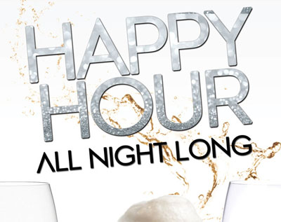 Skyve Happy Hour All Night Long