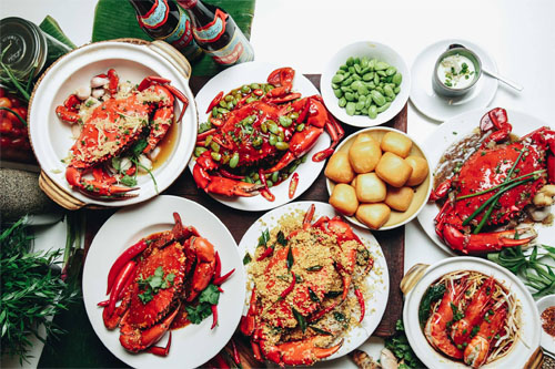 The Ultimate Crab Feast buffet at Plaza Brasserie PARKROYAL on Beach Road